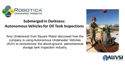 Rewind: Autonomous Vehicles for Oil Tank Inspections