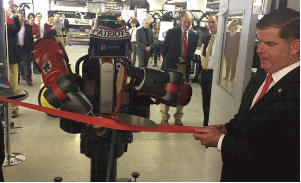 Marty Walsh, Mayor of Boston, inaugurates MassRobotics